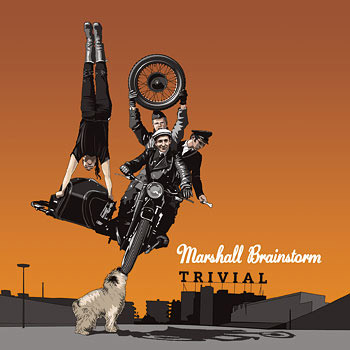 Marshall Brainstorm CD Cover